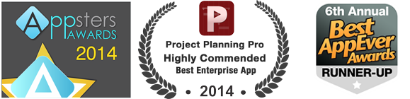 Project Planning Pro: Appsters Awards 2014 & Best AppEver Awards